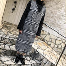 dog tooth long onepiece