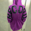 back logo trainer (purple)
