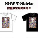 数量限定『花柄+レドクロ』T-Shirts