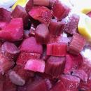冷凍真っ赤なルバーブ1kg