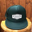 BLACKFLYS(ブラックフライ)スナップバックタイプ メッシュキャップ カラーM.グリーン