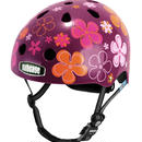 NUTCASE ヘルメットLITTLE NUTTY Purple Pedals(パープルペダルズ) サイズXS