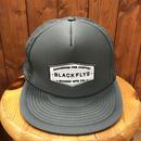 BLACKFLYS(ブラックフライ)スナップバックタイプ メッシュキャップ カラーグレー