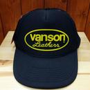 Vanson cap #12793 Black/Yellow