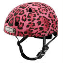 NUTCASE ヘルメットLITTLE NUTTY Pink Cheetah(ピンクターチ マット) サイズXS