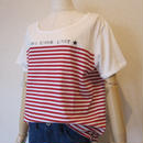 Maison Scotch border Tshirt