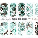 展開終了LAQA&CO ネイルハグズ(ネイルシール)CAROL DEL ANGEL LQA22-1