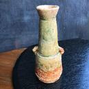 陶器 萩焼 和食器 作家 和モダン 鬼萩 耳付花瓶  黒田岳