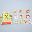 猫 ねこ イラスト シール 30枚セット ① CAT STICKERS