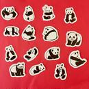 パンダ シール  15枚セット PANDA STICKERS