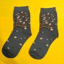 花咲くアーモンドの木の枝  靴下 ゴッホ ソックス ALMOND BLOSSOM SOCKS