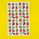 フルーツ 果物 シール ステッカー ネオンカラー