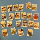 浮世絵 切手風 シール 22枚セット UKIYOE STICKERS