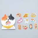 猫 ねこ イラスト シール 30枚セット ② CAT STICKERS  のコピー