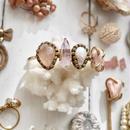 「Rose quartz×Amethyst×Fresh water pearl×Agate」Gemstones bangle