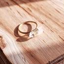 Crystal sword ring