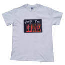 Sorry I'm DRUNK Tee (White)