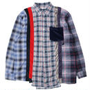 """REBUILD BY NEEDLES(リビルドバイニードルス)""""Flannel Shirt → Inserted 4 Cluths"""""""