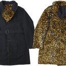 """ENGINEERED GARMENTS(エンジニアード ガーメンツ)""""Shawl Collar Reversible Coat - Fur / Cotton Double Cloth"""""""