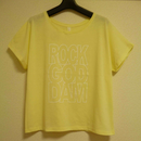 RGD official T-shirt : Summer yellow