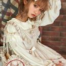 HONEY HONEY LOLITA-  Annie'sBreakfast アニーの朝食 ジャンパースカート·アイボリー