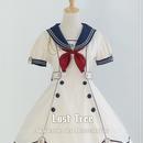 Lost Tree・帆風~Akademie der Meeresbriste 半袖ワンーピースー