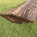 焼き目  杉板  2枚