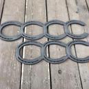 蹄鉄ロストル 3連&4連  セット 耐熱塗装 【350001】