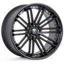 Rohana RC20  20×10.0J  Matte Black w/Gloss Black Lip(マットブラック/グロスブラックリップ)
