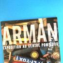 ムック『ARMAN EXPOSITION AU CENTRE POMPIDOU』(洋書)
