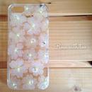 iPhone5/5s用 フラワーアートケース 押し花デザイン  0131_6【再販】