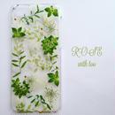 iPhone6/6s用 フラワーアートケース 押し花デザイン 1117_10