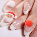 【期間限定】クリスマスネイル サンタセット