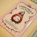 【Chinchilla souri*】アンティークラベル風マグネット