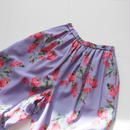 "Graphpaper ""Flower Printed Wide Gather Pants / The floral print designed by *ENAMEL"" Purple"
