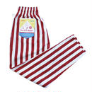 【Cookman】Chef Pants「WIDE STRIPE」(RED)