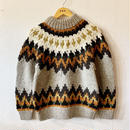 【GOWEST】ESCAPE HAND KNIT SWEATER