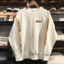 "RUGGED ""BLUNT FIRE"" sweat (12.0oz./White)"