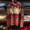 "DENIM&SUPPLY ""FLAG PATCH"" native hoody(Red)"