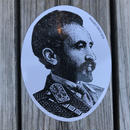 "RUGGED ""SELASSIE"" sticker"