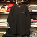 "【残り僅か】RUGGED ""rugged®️"" heavy weight thermal  (Black/10.3oz)"
