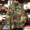 "RUGGED on vintage ""Stencil Arch"" woodland M-65 field jacket (M)"