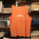 "【ラス1】RUGGED on vintage ""SMALL ARCH"" tanktop (Orange)"