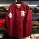 RUGGED ''RUGGED TOKYO'' coach jacket (Red)