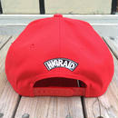 "【ラス1】visualreports ""HIGRAID"" Snapback cap  (Red)"