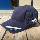 【ラス1】adidas  COTTON COMFORT RELAXED FIT UV PROTECTION adjuster cap (Navy)