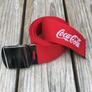 【ラス1】SECOND LAB. Coca-Cola belt (Red)