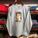 RUGGED ''fictions'' L/S tee  (Light Blue)