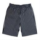 【残り僅か】RED KAP chef short pants (Black Stripe)