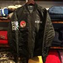 """【ラス1】RUGGED """"欲"""" MA-1 jacket(Black)"""